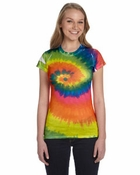 Ladies�  100% Spun Polyester with Moisture Management T-Shirt