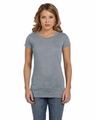 Ladies'  Bernadette Burnout Crew Neck