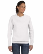 Ladies' Combed Ringspun Fashion Fleece Crew Neck Sweatshirt