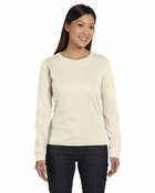 Ladies' Combed Ringspun Long-Sleeve T-Shirt