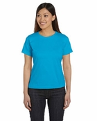 Ladies' Combed Ringspun Scoop Neck T-Shirt
