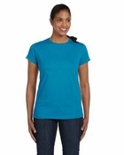 Ladies'  ComfortSoft� Cotton T-Shirt