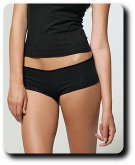 Ladies'  Cotton/Spandex Shortie Panties