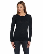 Ladies'  Gretchen Burnout Long-Sleeve T-Shirt