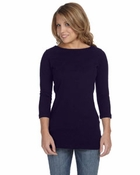 Ladies'  Gwen 1/2-Sleeve Boatneck T-Shirt
