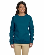 Ladies'  Heavy Blend� 50/50 Fleece Crew
