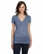 Ladies�   Jersey Deep V-Neck T-Shirt