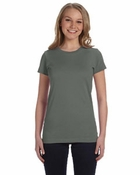 Ladies' Junior Fine Jersey Longer Length T-Shirt