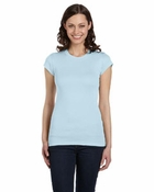 Ladies'  Kimberley Sheer Rib Longer-Length T-Shirt