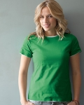Ladies'  Ringspun Cotton Fashion Fit T-Shirt