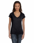 Ladies'  Simone Burnout V-Neck