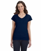 Ladies�   SoftStyle Junior Fit V-Neck T-Shirt