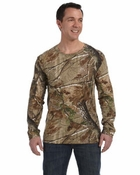 Officially Licensed Realtree™ Camouflage Long-Sleeve T-Shirt
