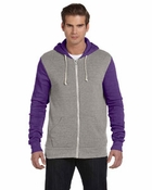 Unisex  Rocky Color-Blocked Full-Zip Hoodie