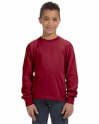 Youth   100% Heavy Cotton HD Long-Sleeve T-Shirt
