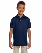 Youth  50/50 Jersey Polo with SpotShield™