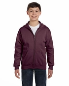 Youth  ComfortBlend® EcoSmart™ 50/50 Full-Zip Hood