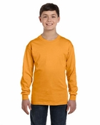 Youth  Tagless® ComfortSoft® Long-Sleeve T-Shirt