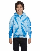 Youth   Tie-Dyed Pullover Hood