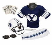 NCAA Youth Football Uniform & Helmet Set <br>BYU Brigham Young Cougars