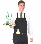 Black Bib Apron Regular