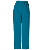 CHE 4200 Ladies Pull-On Cargo Pant Carribbean Blue