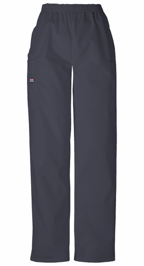 Cherokee 4200 - Women's Pull-On Cargo Pant Pewter