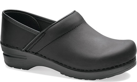 Dansko Professional Black Oiled Natural