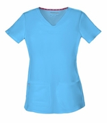 "Heartsoul 20710 - ""Pitter-Pat"" Shaped V-Neck Top"