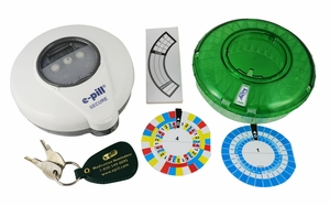 e-pill Med-O-Wheel SECURE Automatic Pill Dispenser