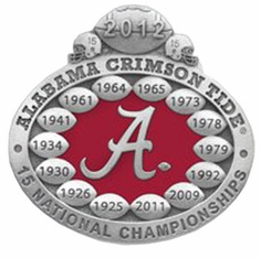 Alabama 2012 National Champions