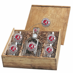 Alabama Crimson Tide Capital Decanter Box Set