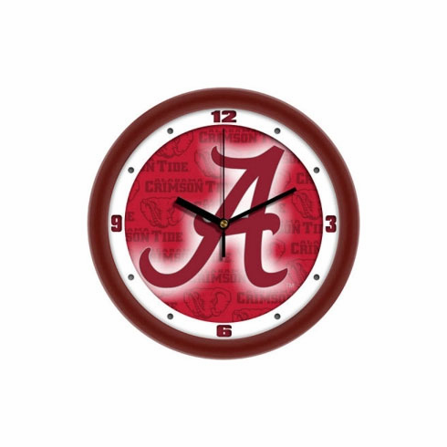 Alabama Crimson Tide Dimension Wall Clock