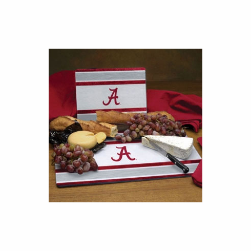 Alabama Crimson Tide Glass Cutting Board Set - BACKORDERED