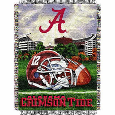 Alabama Crimson Tide Home Field Advantage Throw