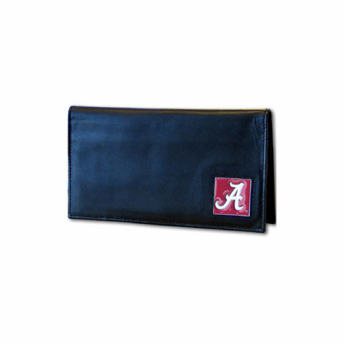 Alabama Leather Checkbook Cover