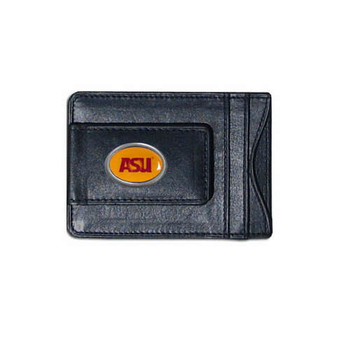 Arizona State Leather Cash and Card Holder