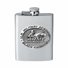 Army Black Knights Flask