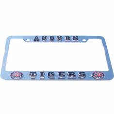 Auburn Eyes License Plate Frame