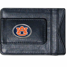 Auburn Leather Cash and Card Holder