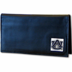 Auburn Leather Checkbook Cover