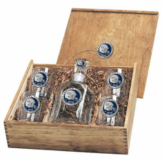 Auburn Tigers 2010 National Championship Capital Decanter Box Set
