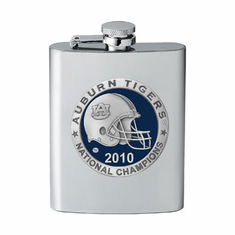 Auburn Tigers 2010 National Championship Flask