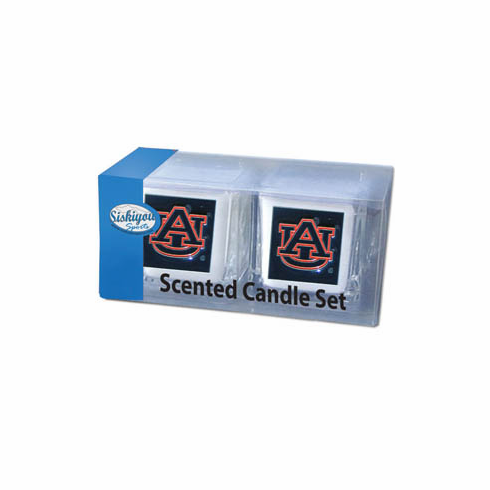 Auburn Tigers Candle Set