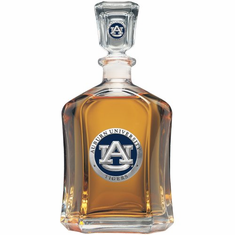 Auburn Tigers Glass Capital Decanter
