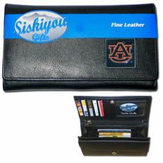 Auburn Tigers Leather Ladies Wallet - BACKORDERED