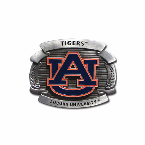 Auburn Tigers Oversized Belt Buckle