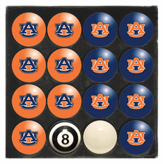 Auburn University Home & Away Billiard Ball Set