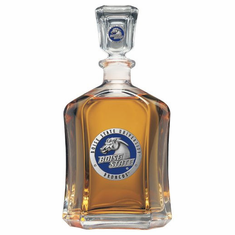 Boise State Broncos Glass Decanter