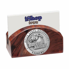 Boise State Broncos Ironwood Business Card Holder